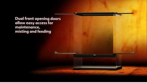 Exo Terra Door opening system