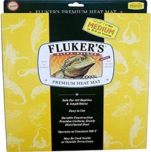 Fluker'S Heat Mat, 11x11 in, 12w