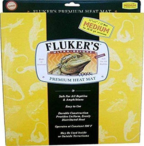Fluker'S Heat Mat, 17x11 in, 20w