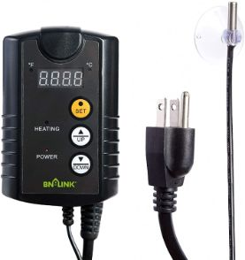 BN-LINK Digital Heat Mat Thermostat Controller for Reptiles Heating Systems, 40-108°F, 8.3A