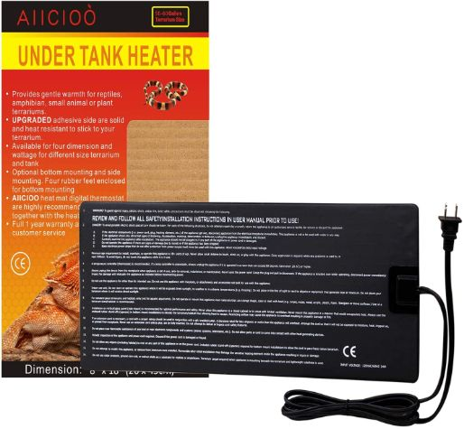 Aiicioo Under Tank Heater, 8x18 in, 24W