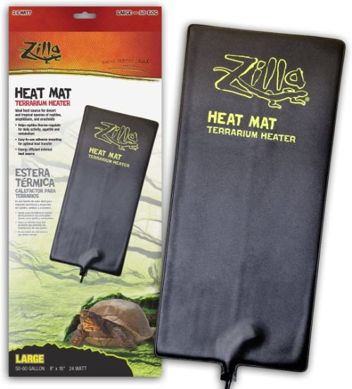 Zilla Reptile Heating Pad, 18 x 8 in, 24w