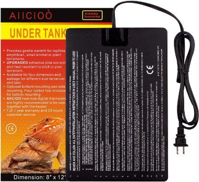 Aiicioo Under Tank Heater, 8x12 in, 16W