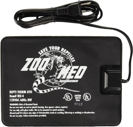 Zoo Med ReptiTherm Under Tank Heater, 8x6 in, 8w