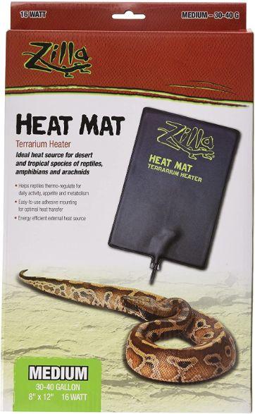 Zilla Reptile Heating Pad, 12 x 8 in, 16w